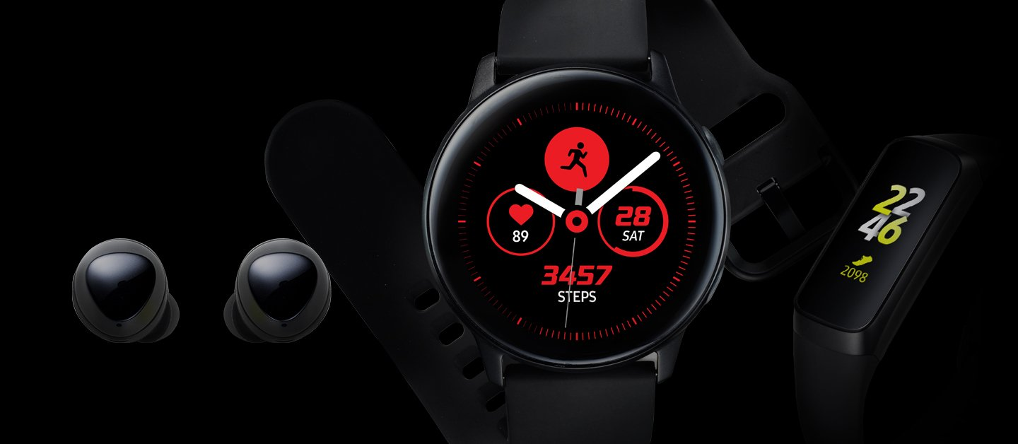 A picture from the Galaxy Wearables app.