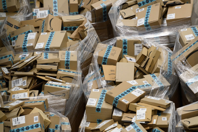 Amazon's new plan to reduce waste: Deliver only once a week