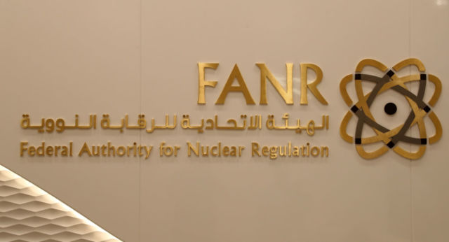 "The UAE's Federal Authority for Nuclear Regulation (FANR). UAE signed an agreement to never seek technology to enrich uranium or plutonium as part of its 123 Agreement with the US, making it the ""gold standard"" for nuclear power technology transfer and nonproliferation."