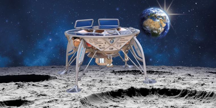 SpaceX Set to Launch Israeli Private Mission to the Lunar Surface