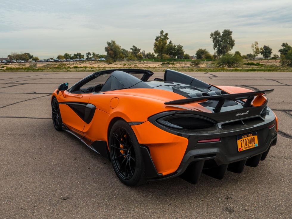 Lightweight Car Seat >> The McLaren 600LT Spider: A lighter, more focused track ...