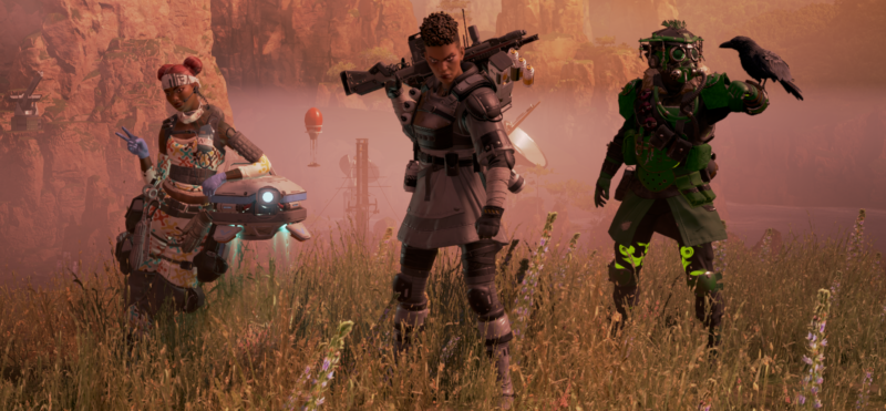 There's some nitpicking about <em>Apex Legends</em> below, but I will say this: I dig its character designs. Even if there are only eight thus far.