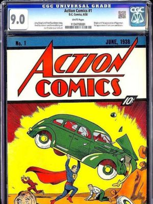 If a copy of <em>Action Comics</em> No. 1 can be worth millions of dollars, why not a rare video game?