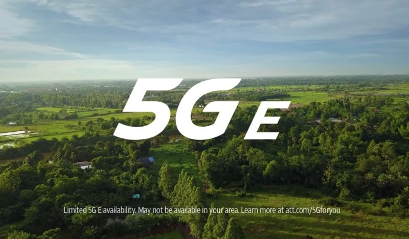Sprint sues AT&T over fake 5G logo
