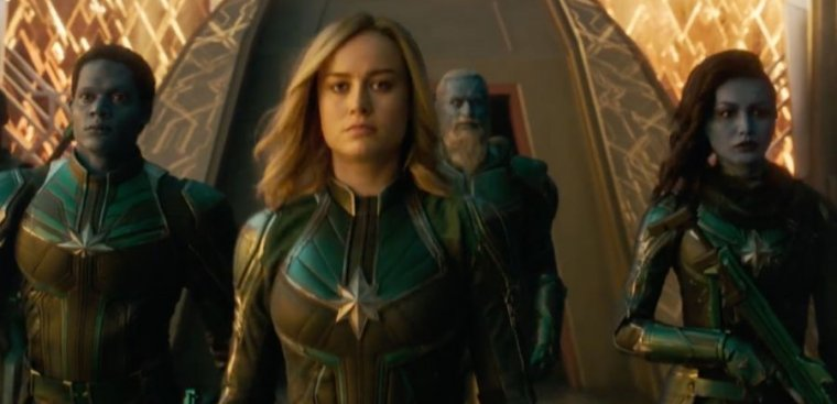 Captain Marvel's cinematic adventure will appear on Disney+, not Netflix.