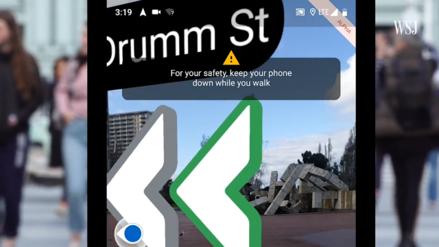 Google Maps AR Navigation comes to iPhones and Android