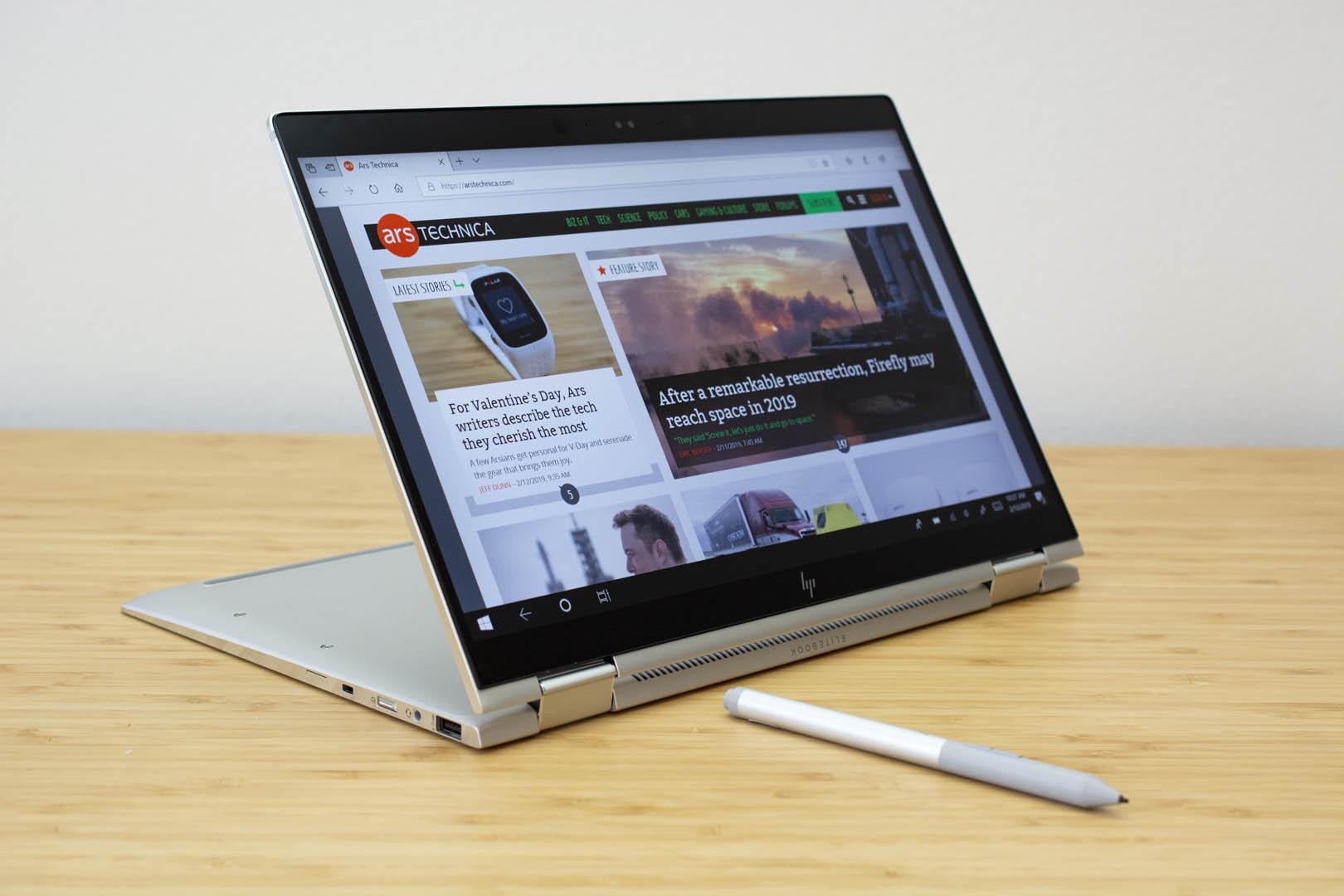 HP Elitebook x360 1040 G5 review: A little bit bigger, a