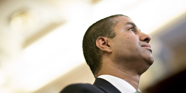 Ajit Pai Says Broadband Access Is Soaring And That He S The One To Thank Ars Technica