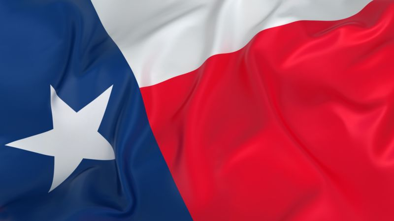 The Texas state flag.