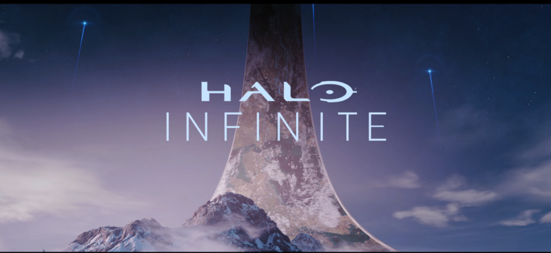 Halo Infinite logo, as revealed at E3 2018.