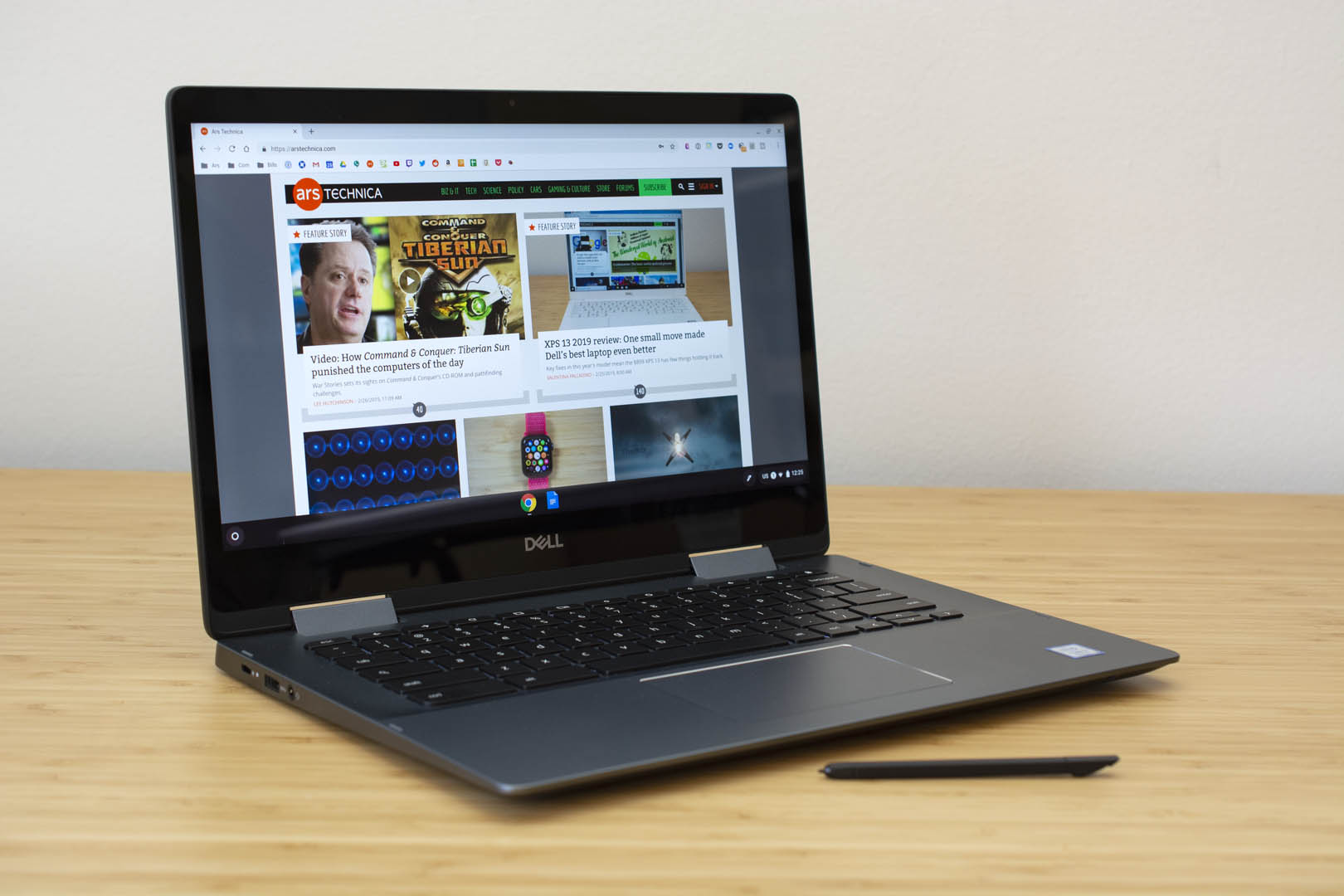 Mini-review: 24 hours with Dell's fanciest Chromebook yet | Ars Technica