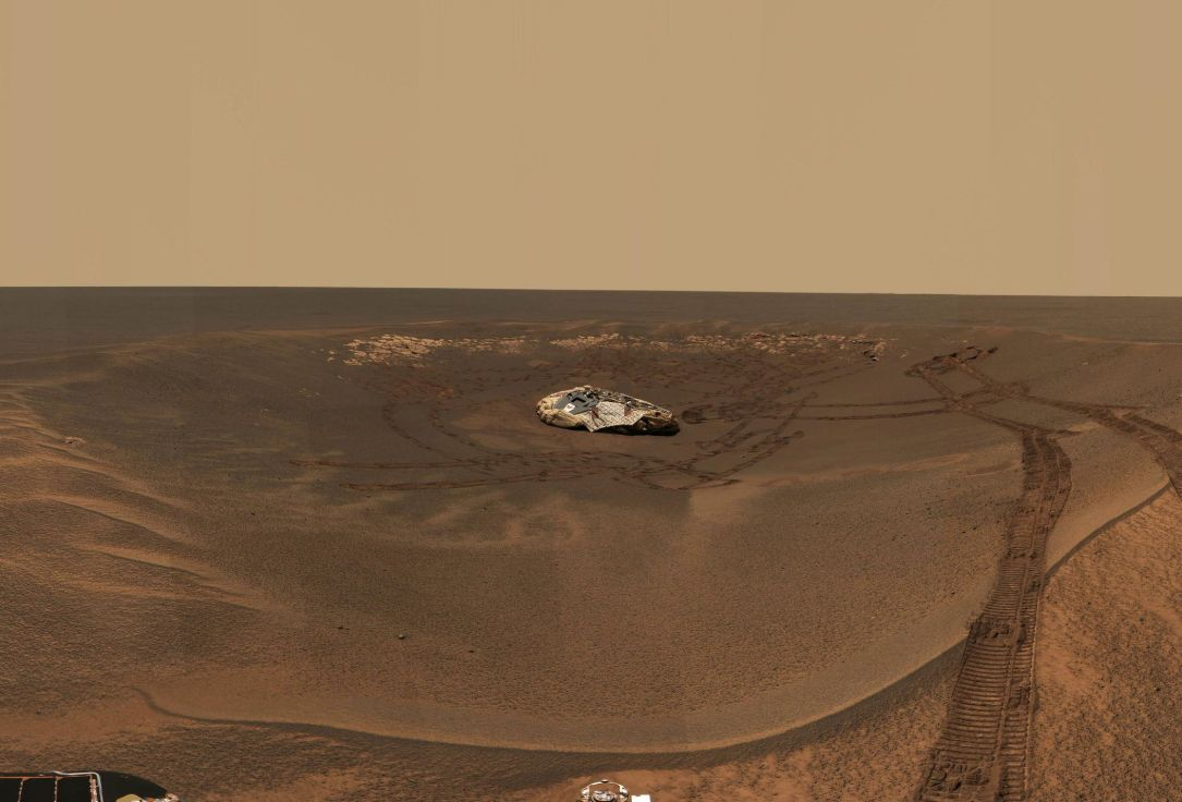opportunity rover on mars - photo #32