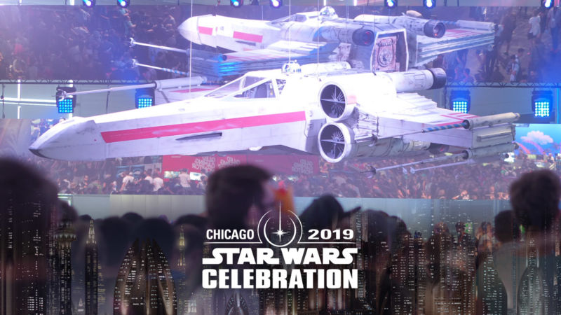 The Chicago event is part of a convention series for Star Wars fans.