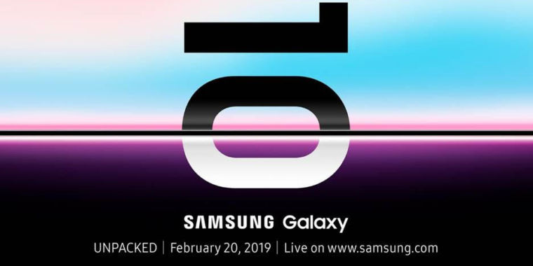 Liveblog: The Samsung Galaxy S10 Launch Happens Wednesday, February 20