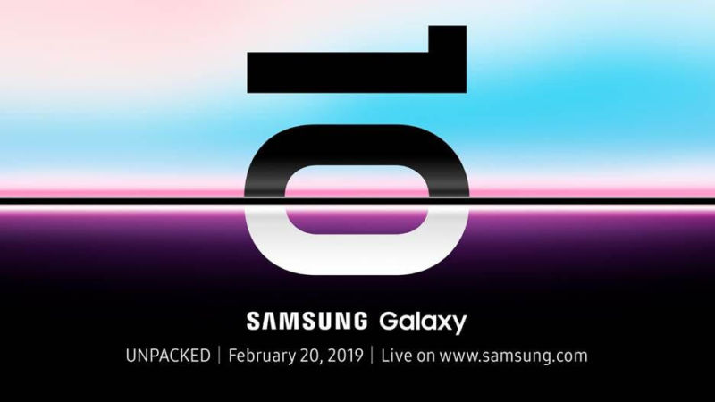 Liveblog: Samsung Galaxy S10 launches on Wednesday, February 20th.