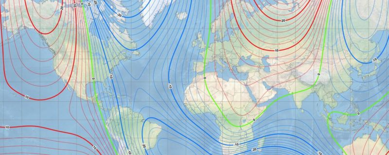 Drift of the North Pole forces early magnetic map update