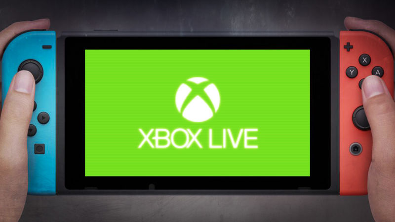 Image result for Xbox Live is coming to the Nintendo Switch, IOS, and Android.