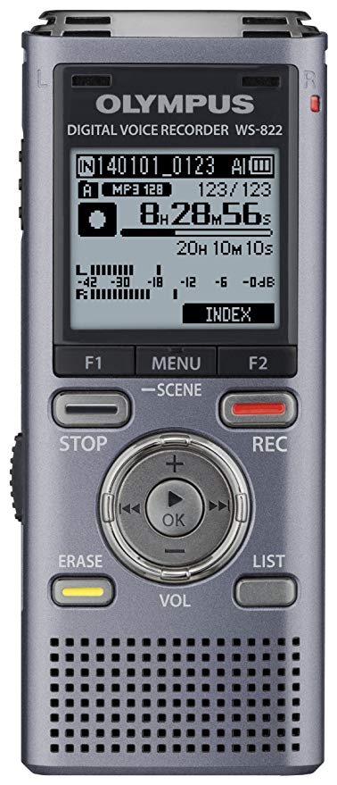 Olympus WS-822 Recorder product image