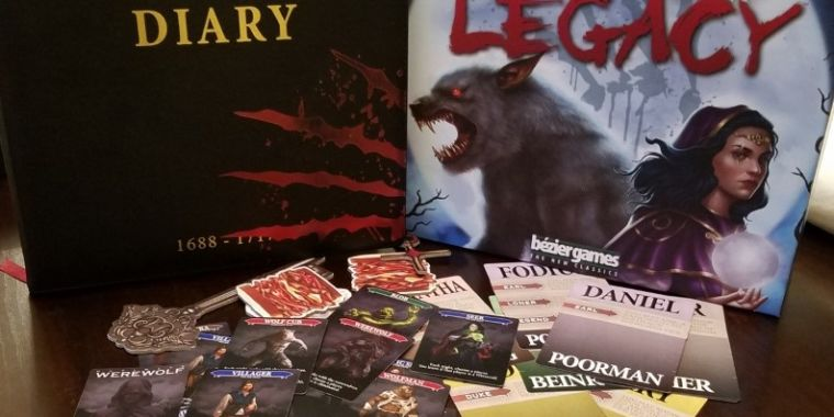 Board game review: Ultimate Werewolf Legacy thumbnail