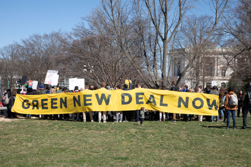 Senate vote puts Green New Deal resolution to bed