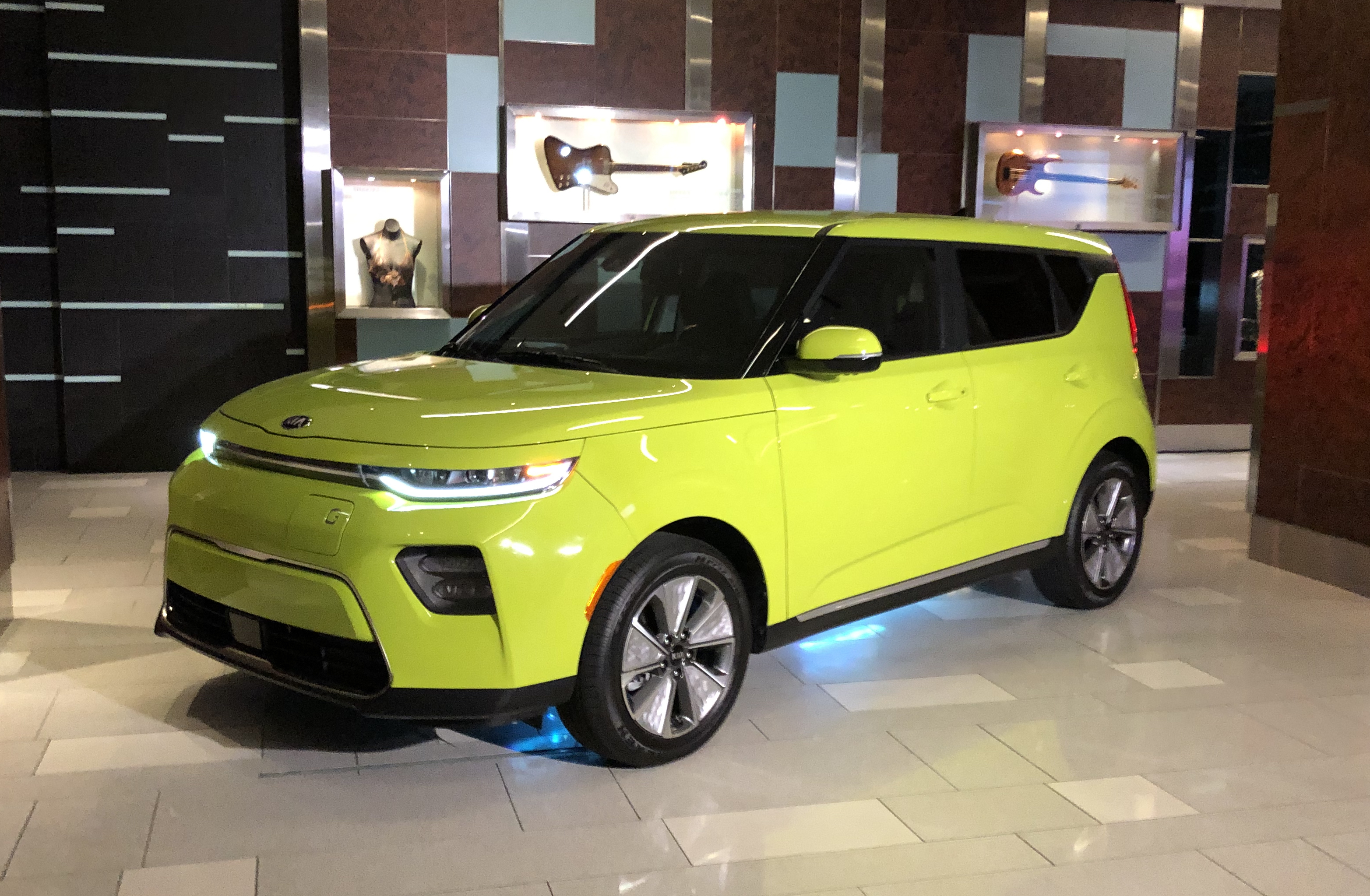 We'll have to wait until later this summer to try out the Soul EV.