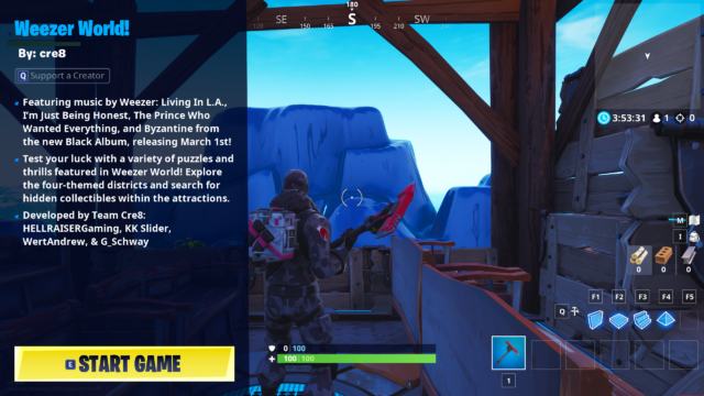 Fortnite teams with Weezer in attempt to become the next