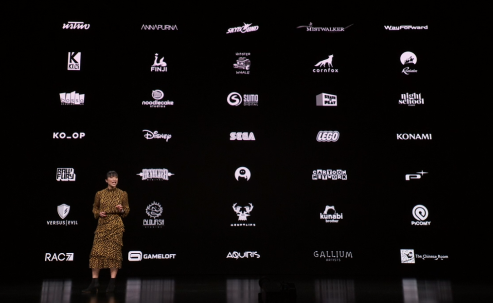 Confirmed developers and publishers coming to Apple Arcade.