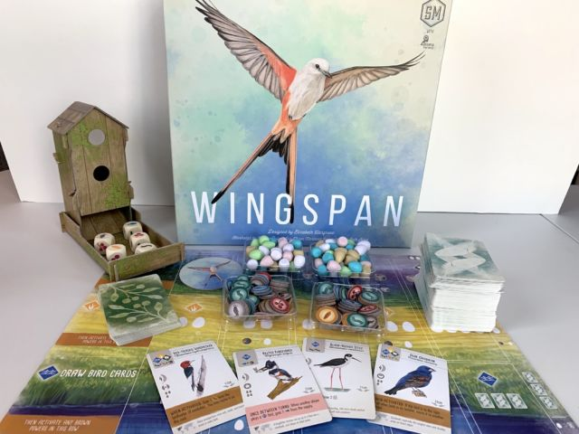 <em>Wingspan</em>, a gorgeous and Ars approved board game about birding.
