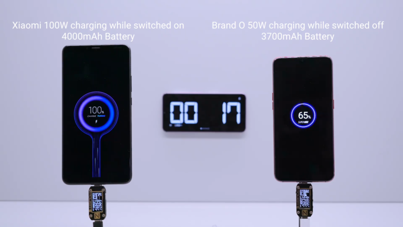 03 >> Xiaomi S 100w Quick Charging Goes From 0 To 100 In 17 Minutes