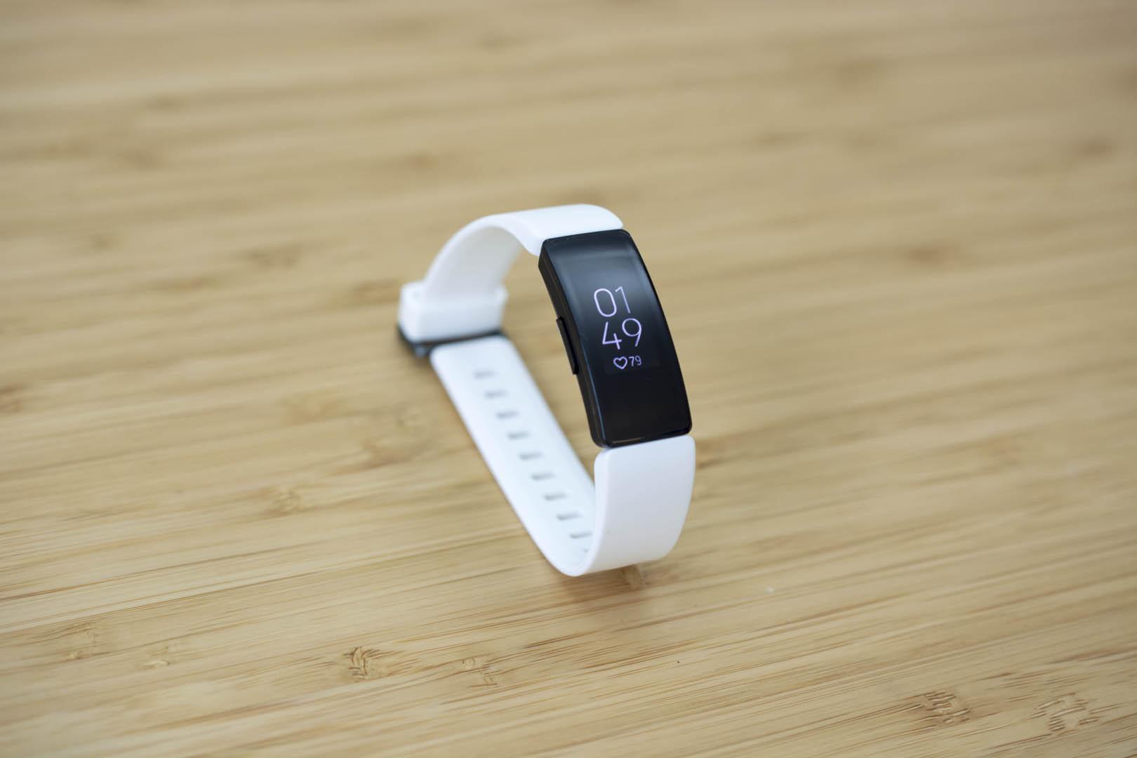 Fitbit's Inspire HR.