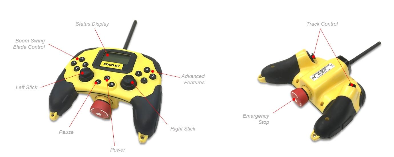 First-person digger: Stanley Black & Decker's game controller for