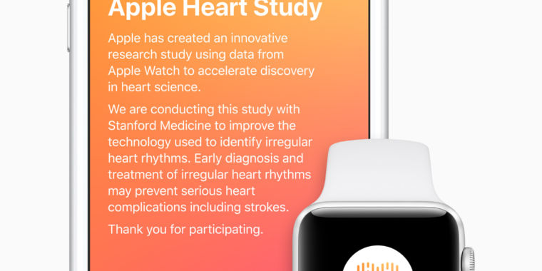 Apple Watch accurately spotted heart condition 34% of the