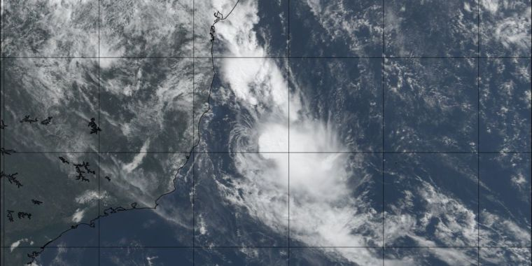 For Just the Fourth Time, a Tropical Cyclone Forms in the Southern Atlantic