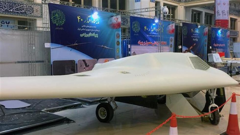 "Iran pumps up ""massive"" offensive exercise with as many as 50 drones"