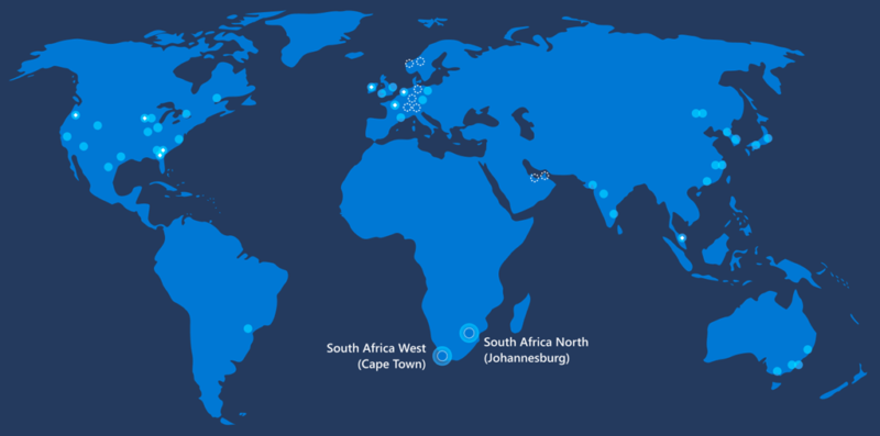 Microsoft is first major cloud provider to open African data centers