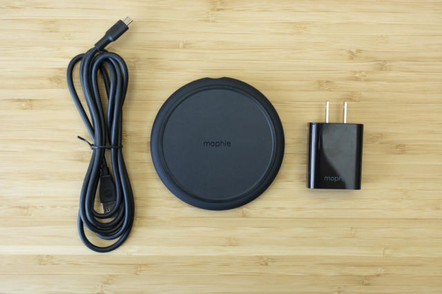 Mophie's Charge Stream Pad+.