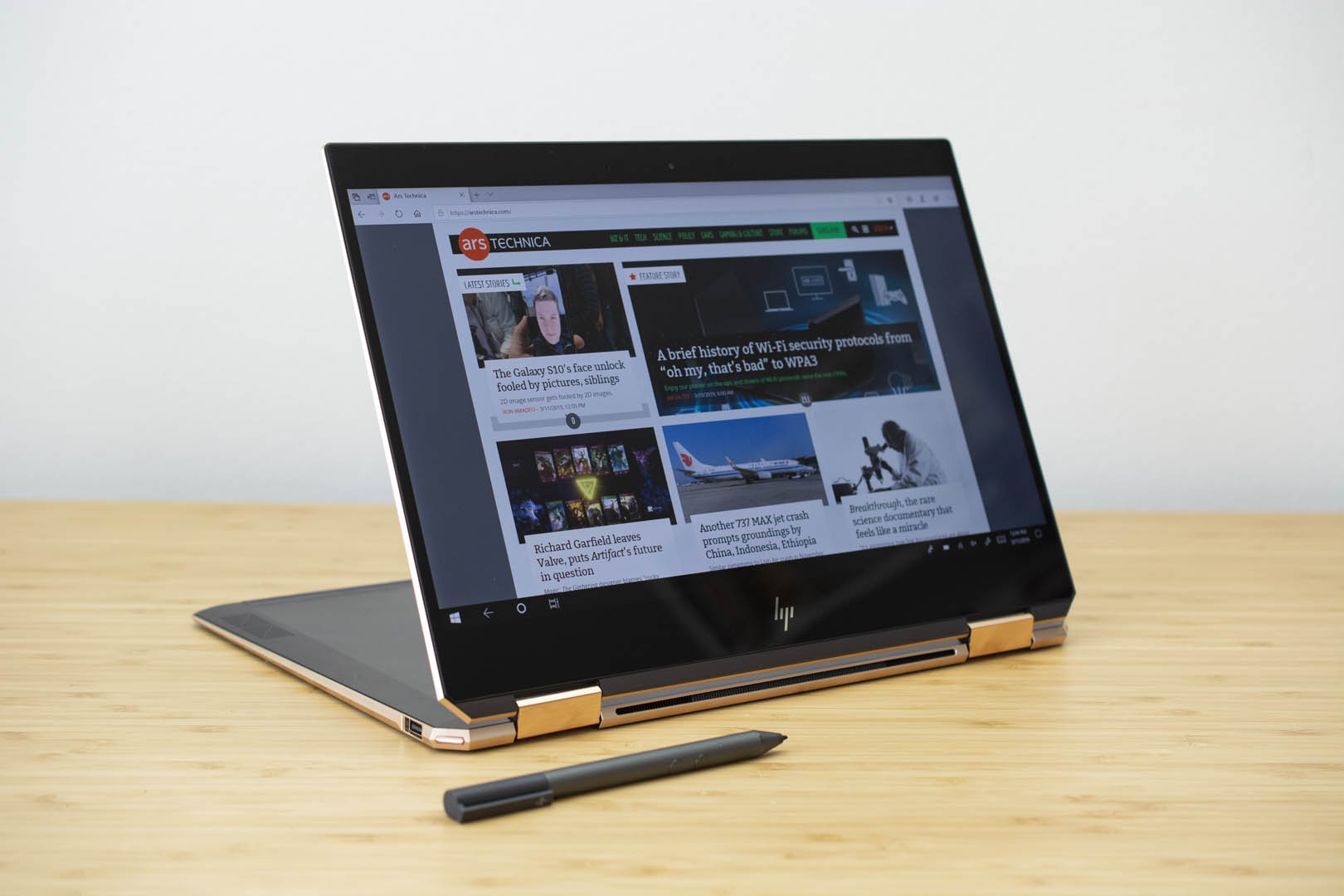 The HP Spectre x360 13.