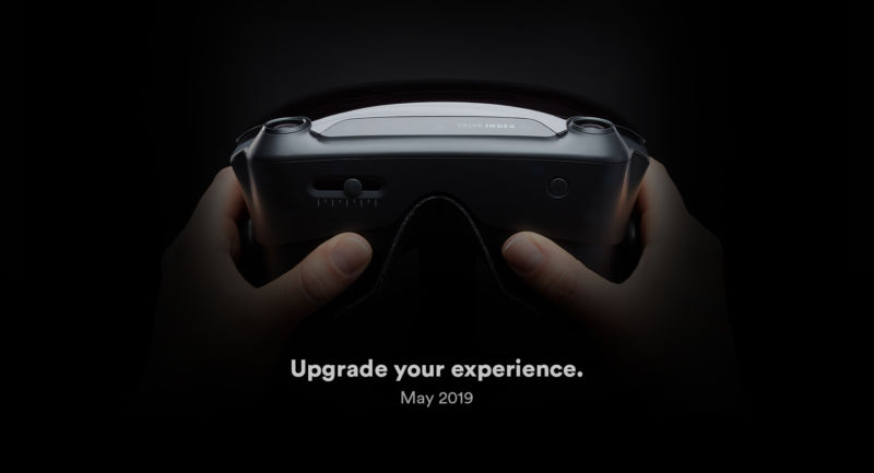What do we know about the new VR headset from Valve? Not much beyond this picture.