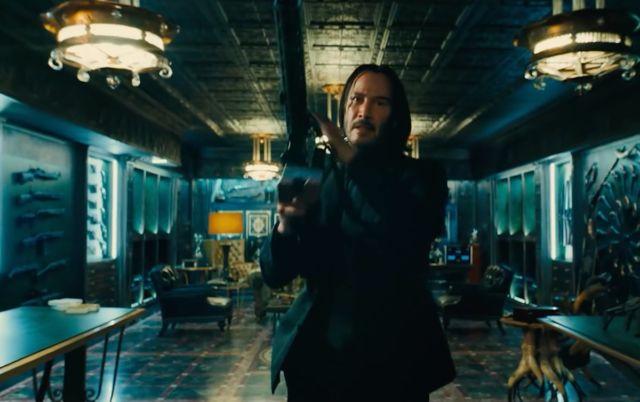 "Everyone is ""gun-fu"" fighting: John Wick 3 is almost as good"