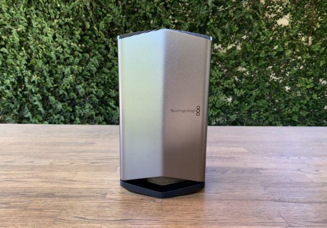 Blackmagic Egpu Pro Mini Review Quiet Fast And Extremely Expensive Like A Mac Ars Technica