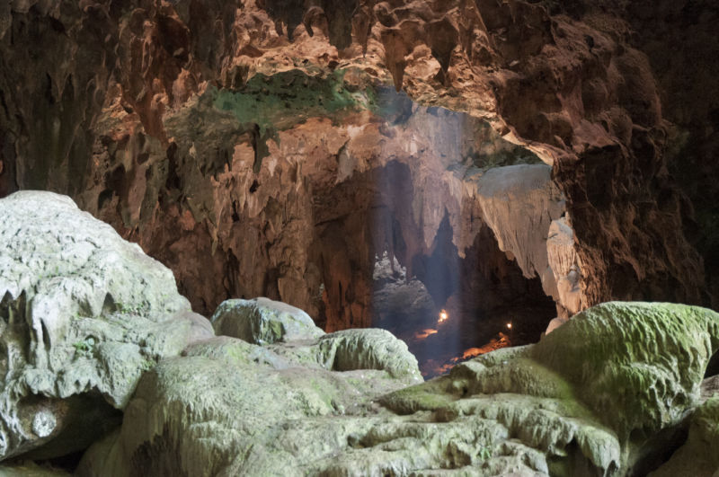Callao Cave in northern Luzon, where the fossils were found.