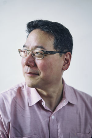 <em>Unforgivable</em> writer Ed Lin.