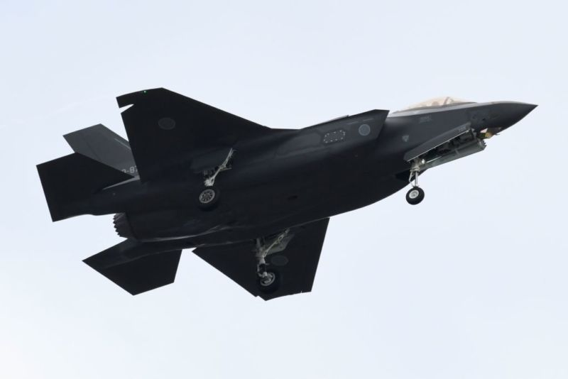 An F-35 fighter aircraft of the Japan Air Self-Defense Force was lost in the Pacific on Tuesday.