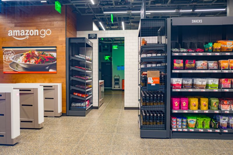 Amazon Go interior