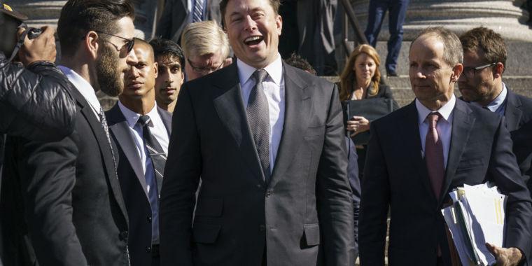 Elon Musk reaches settlement in SEC tweet battle - Ars Technica