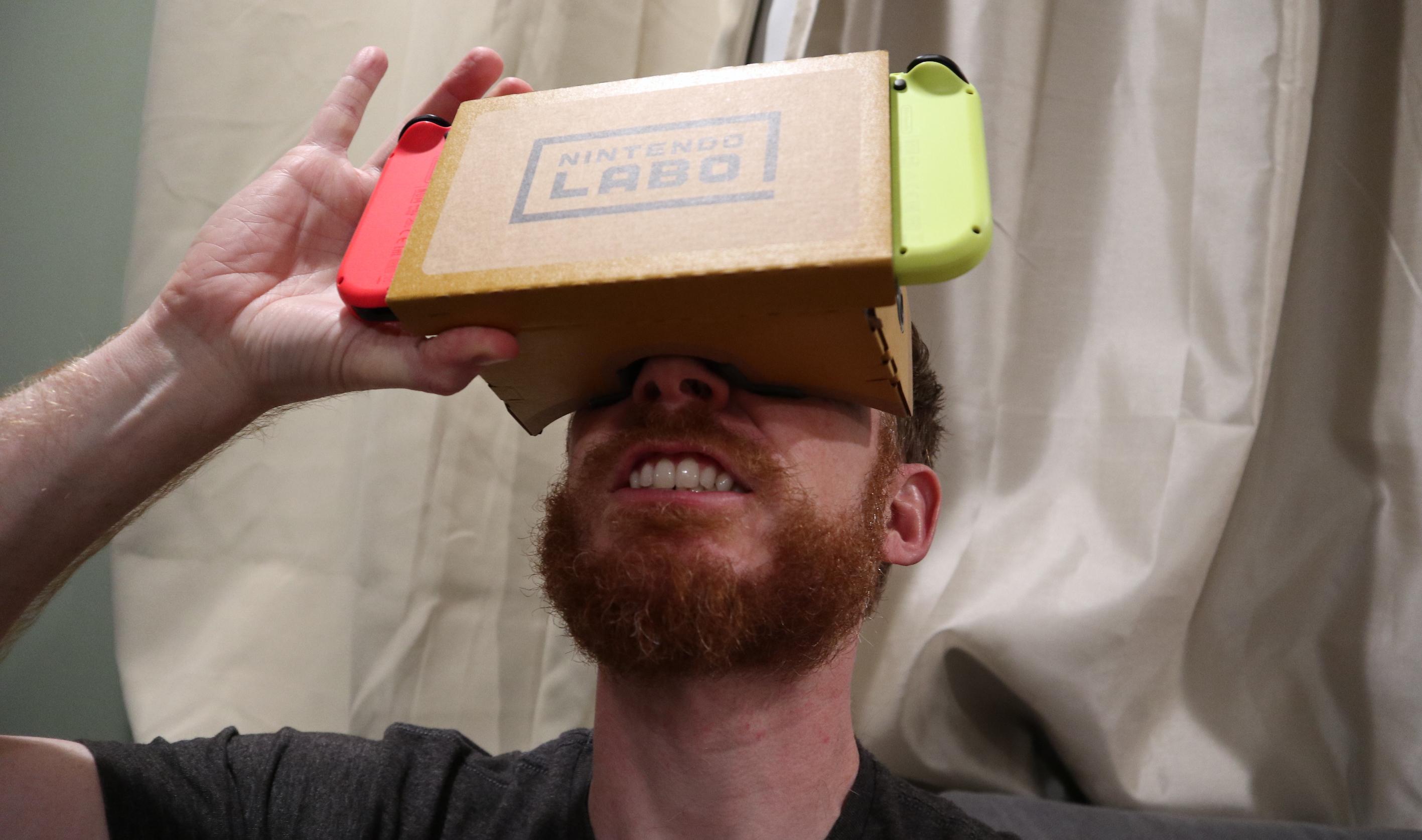 "e5119b2bd263 Nintendo Labo VR review  There s no ""Nintendo magic"" inside these lenses"