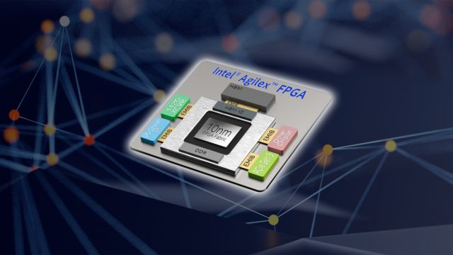 Intel Agilex FPGA model.