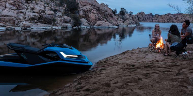 Nikola Motor Company shows off two real trucks and …a new jet ski?