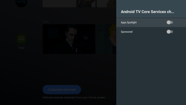 Android TV update puts home-screen ads on multi-thousand-dollar Sony