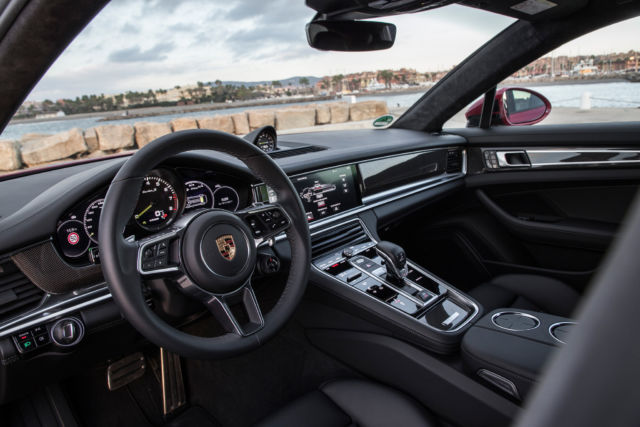 The Porsche Panamera Turbo Sport Turismo To Hybrid Or Not To Hybrid Ars Technica